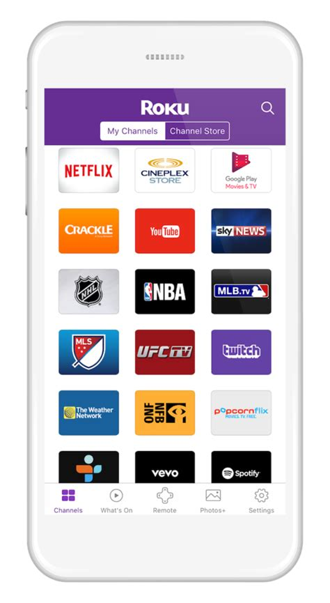 roku android app roku canada updated roku mobile app for ios and android get to the entertainment you
