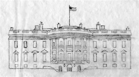 white house drawing white house drawings group picture image by tag keywordpictures com