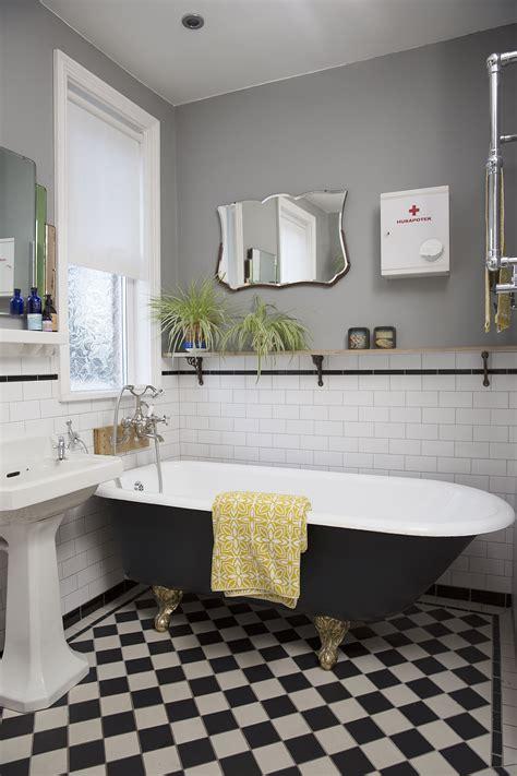 bathroom victorian tiled floor  underfloor heating