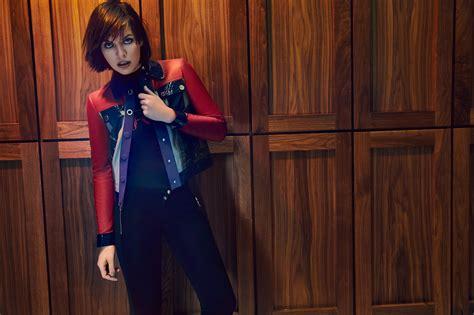 milla jovovich child model milla jovovich talks politics child actors and shopping