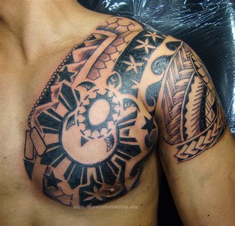 pinoy tribal tattoos immortal manila philippines by frank ibanez jr