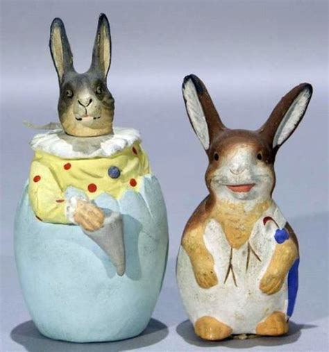 Vintage Composition Paper Mache Easter - 17 best images about vintage easter containers on