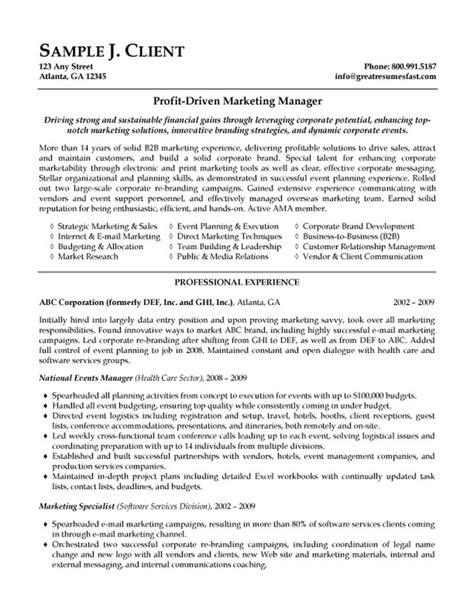 Creative Executive Sle Resume by 17 Best Ideas About Executive Resume Template On Executive Resume Resume Work And