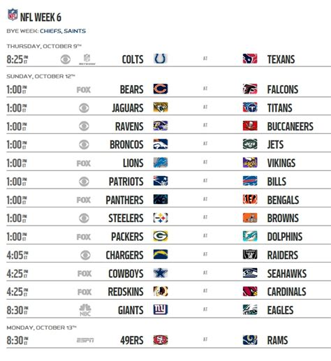 section 2 football schedule printable nfl week 13 tv schedule 2017 autos post