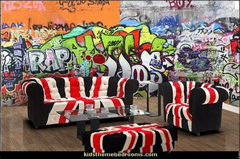 graffiti wallpaper living room decorating theme bedrooms maries manor graffiti