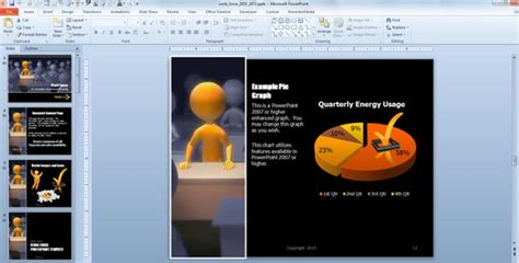 finding ascend and descend in powerpoint 2010 and how you might use