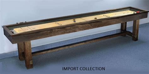 12 rustic shuffleboard