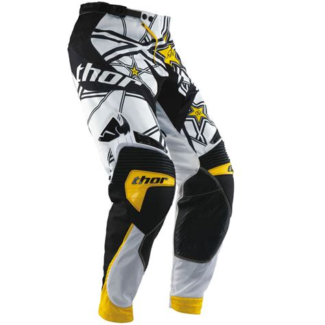 rockstar motocross gear thor 2013 core s13 rockstar energy mx enduro trousers off
