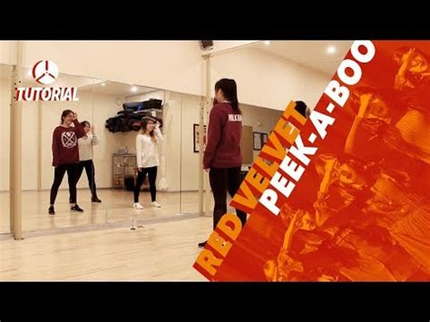 tutorial dance red velvet be natural tutorial red velvet 레드벨벳 peek a boo 피카부 dance