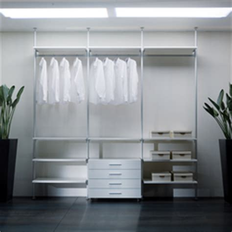 Aluminium Wardrobes by Epomeo Aluminium Shelves Wall Shelves From Aico Design