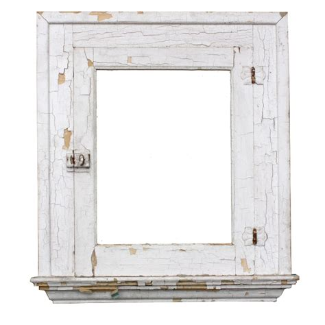 Vintage Bathroom Mirror Cabinet Salvaged Antique Bathroom Medicine Cabinet With Mirror Crackled Paint Nmc9 For Sale Antiques