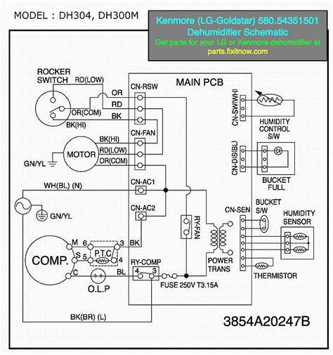 kenmore fan wiring diagram wiring diagram schemes