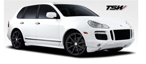 porsche cayenne matte white white suv with rims bing images