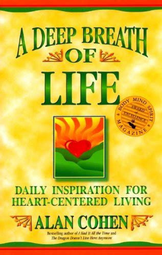 libro daily inspiration for the a deep breath of life daily inspiration for heart centered living religione panorama auto