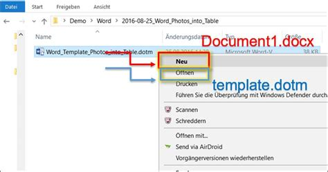 Word Vorlage Laden Word Vorlage Fotos In Eine Tabelle Laden Programmierer Office 365