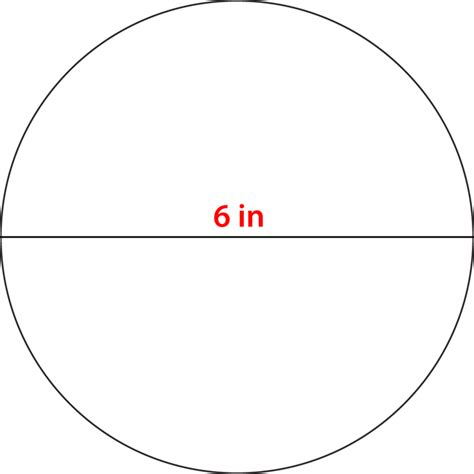 six inch circle template circle circumference read geometry ck 12 foundation