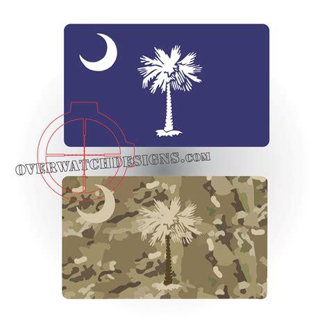 of south carolina colors south carolina state flag sticker overwatch designs