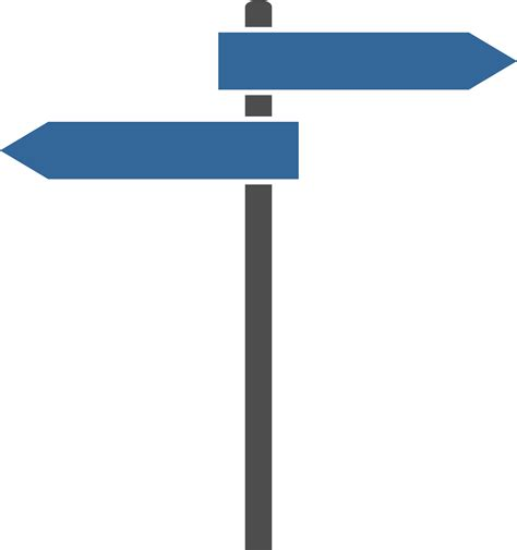 sign post template clipart signpost