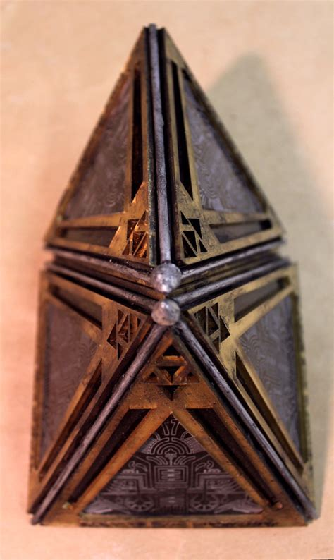 holocron prop replicas custom fabrication special effects