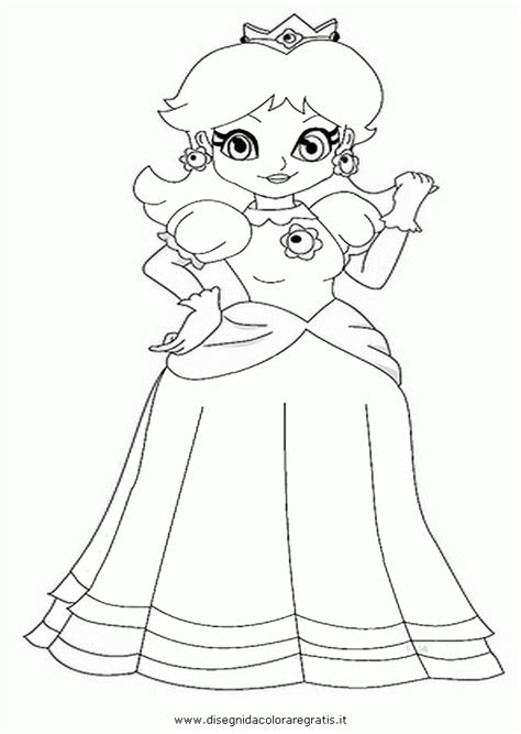 coloring pages of daisy from mario mario daisy coloring pages coloring home