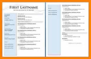 Exles Of 2 Page Resumes by Two Page Resume Sle Jennywashere