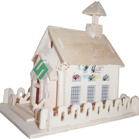 3d Wood Puzzle Store House Puzzle Kayu buy grosir model gereja from china model gereja
