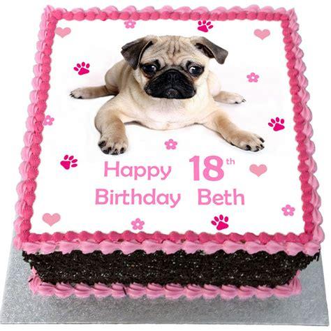 pug birthday cake pug birthday cake flecks cakes