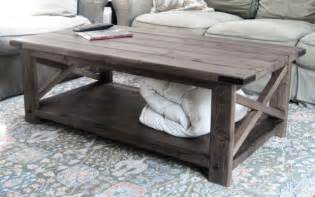 diy square coffee table plans woodplans