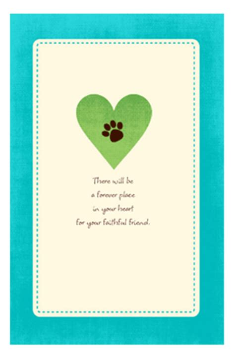 printable condolence card quot a forever place quot encouragement printable card blue
