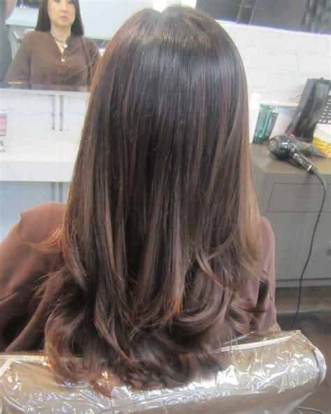hair color ash brown to ash blonde sombre hair color melt dark ash brown neil george