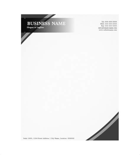 business letterhead size 10 construction company letterhead templates free