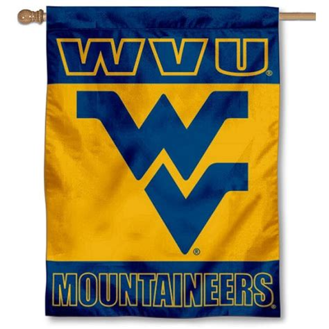 double sided house flags west virginia mountaineers double sided house flag your west virginia mountaineers