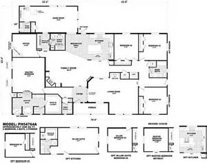 cavco floor plans floor plan ph 54764a pinehurst triplewides homes by cavco west cavco manufactured home