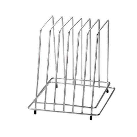 Cutting Board Storage Rack by Cutting Board Storage Rack Stainless Steel Holds 6