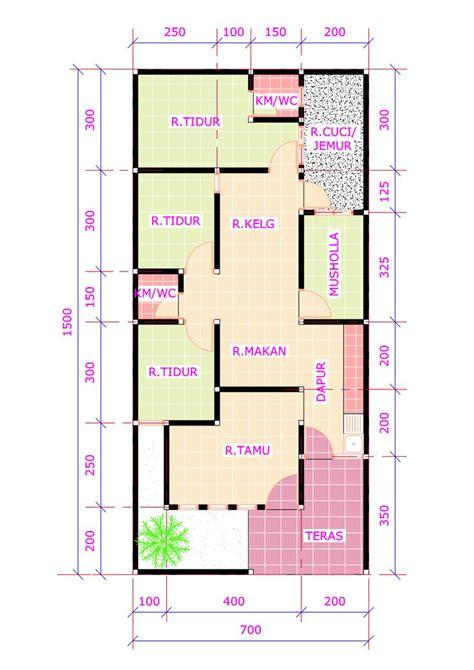 desain rumah  kamar tidur  mushola desain rumah modern denah rumah pinterest modern