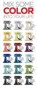 kitchen aid mixer colors 18 kitchenaid mixers in every color imaginable which is