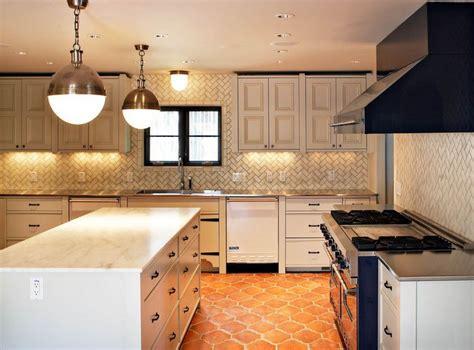 herringbone backsplash pattern kitchen backsplashes dazzle with their herringbone designs