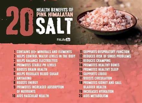 health benefits of himalayan salt l benefits of pink himalayan salt healthful hints