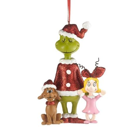 the grinch max cindy christmas ornament i love whoville