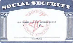 Editable Social Security Card Template 10