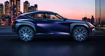 lexus ux concept reveals compact suv plans in