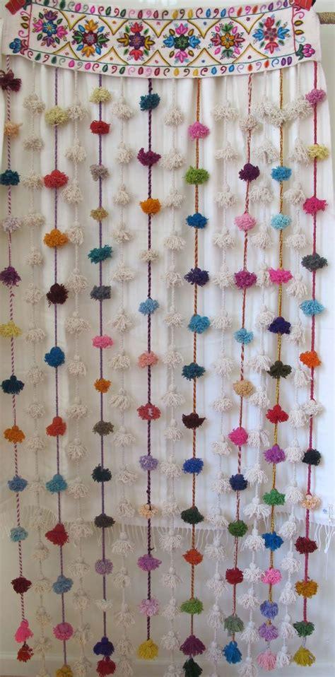 diy pom pom curtains best 25 pom pom curtains ideas on pinterest diy curtain