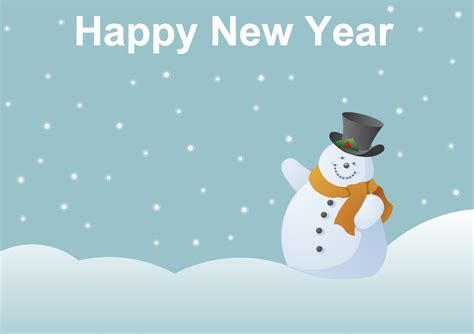 new year postcard template solution clipart conceptdraw