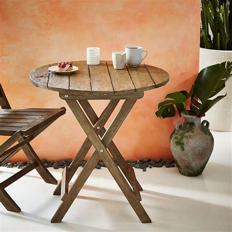 west elm bistro table jardine folding bistro table west elm