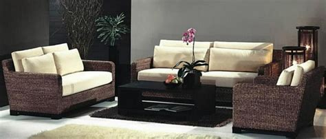 Kursi Ruang Tamu Dari Rotan desain model kursi rotan minimalis ruang tamu rumah