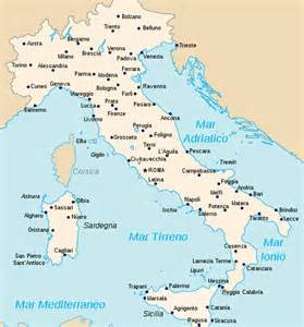 can you show me a map of italy