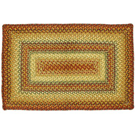Rectangle Area Rugs Primitive Jute Braided Area Rugs Oval Rectangle 20x30 8x10 Graceland Ebay