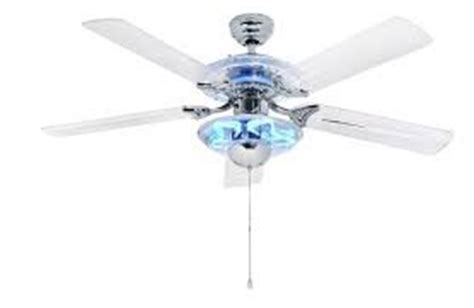 Cameron Ii Plus Ceiling Fan - hton bay 52 in cameron ii plus chrome finish with blue