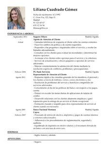 Ejemplo De Curriculum De Jefe De Recursos Humanos modelos de curr 237 culum v 237 tae plantilla de cv gratis livecareer