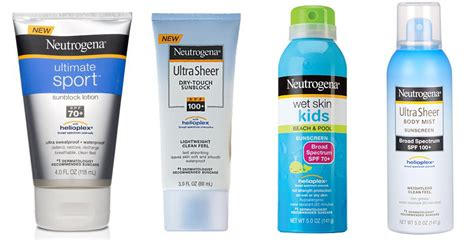 banana boat sunscreen not working neutrogena is the number one sunscreen to avoid says ewg